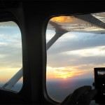 Sunset Photo Airplane