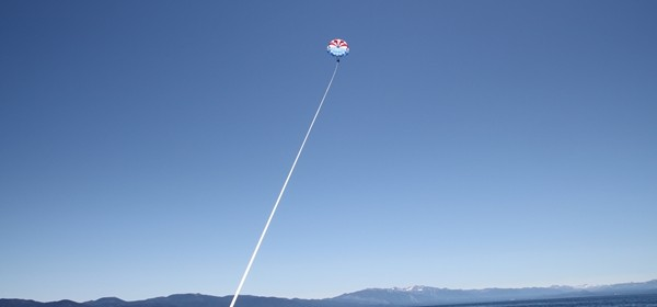 Parasailing in Lake Tahoe