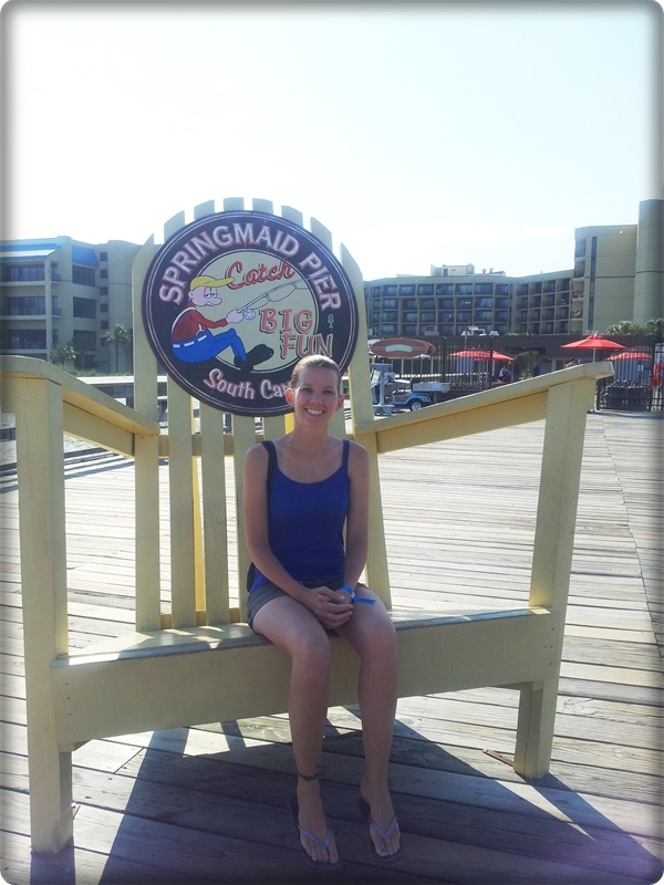Springmaid Pier Big Chair