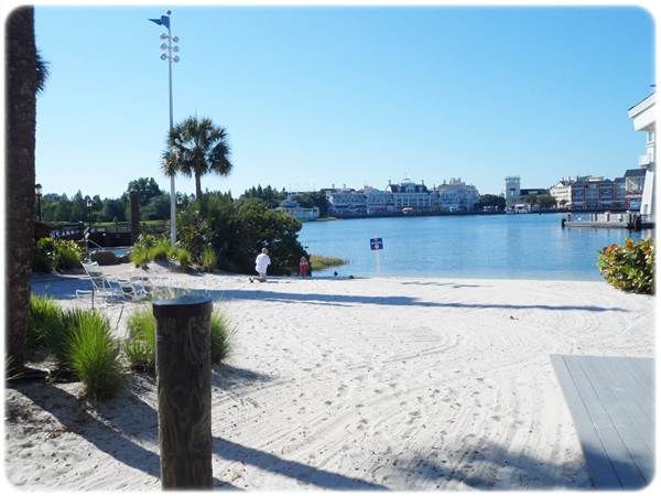 Disney Yacht Club Beach