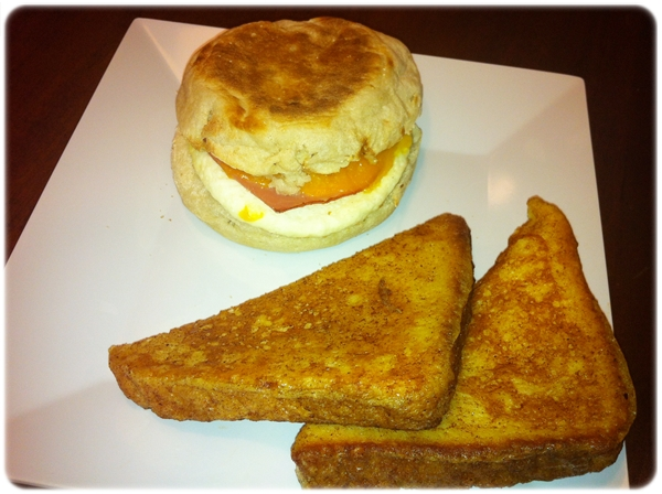 Hyatt Place Breakfast Sandwich