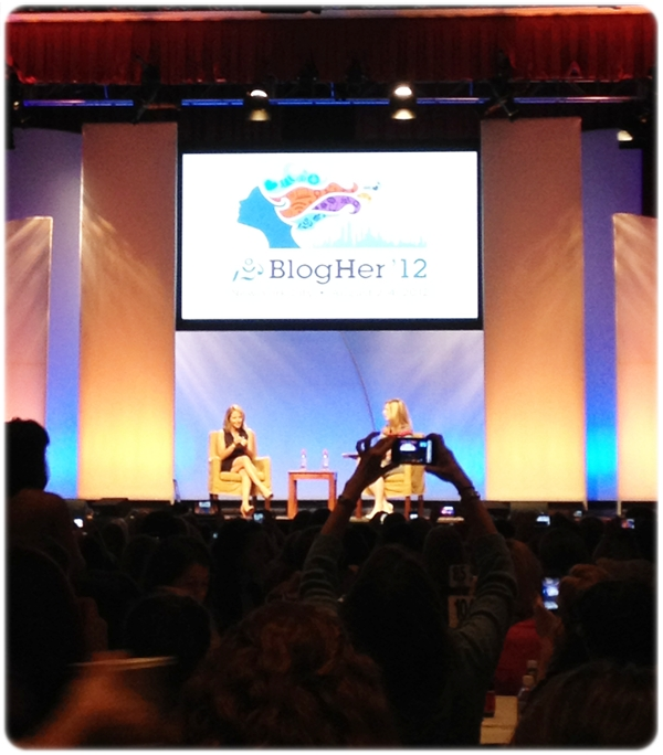 BlogHer Katie Couric Interview