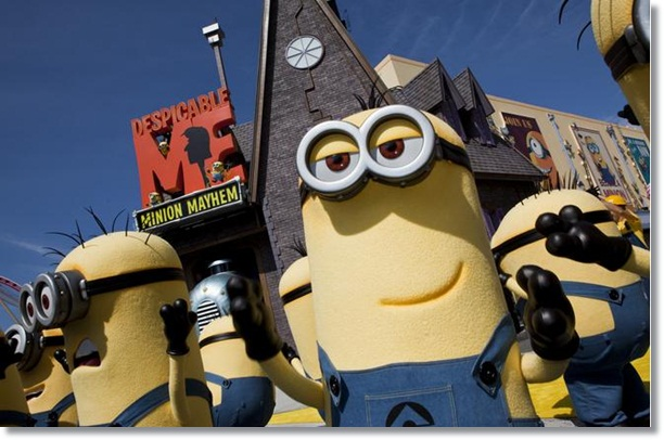 Despicable Me Minion Mayhem Universal Studios