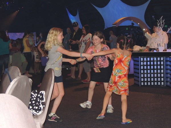 Disney Social Media Moms Epcot Dinner Dancing