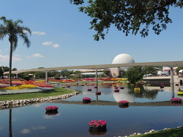 Epcot International Flower Garden Show