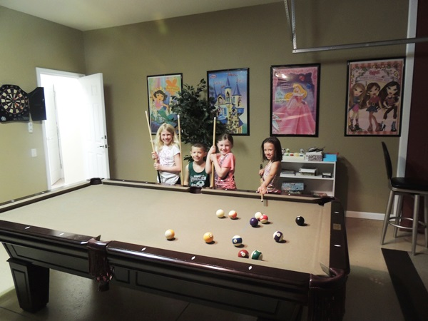 Global Resort Homes Pool Table